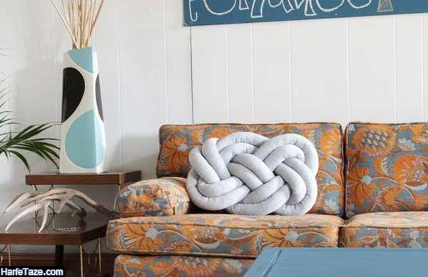 مدلهای جدید کوسنهای گرهی توپی برای مبل و تختخواب