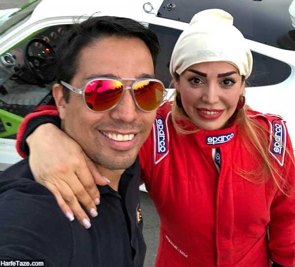 بیوگرافی شخصی راننده زن معروف به شوماخر ایرانی
