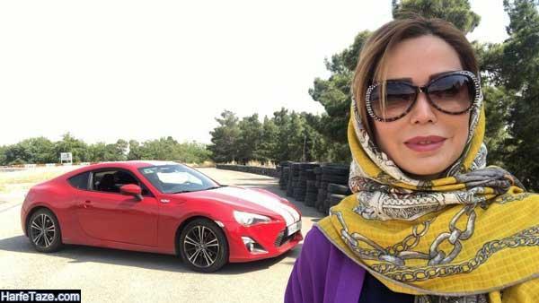 اینستاگرام لاله صدیق قهرمان شوماخر ایرانی