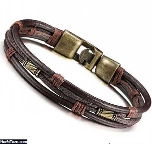 مدل دستبندهای چرمی بی نهایت شیک و زیبا