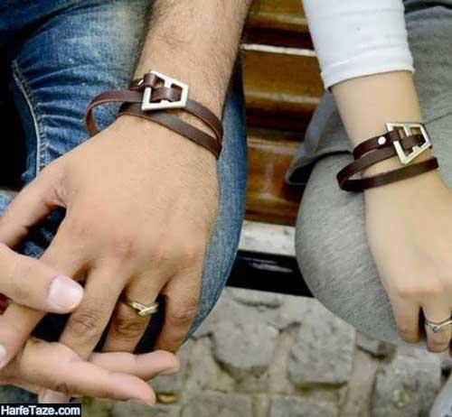 مدلهای ست دستبند چرمی فشن