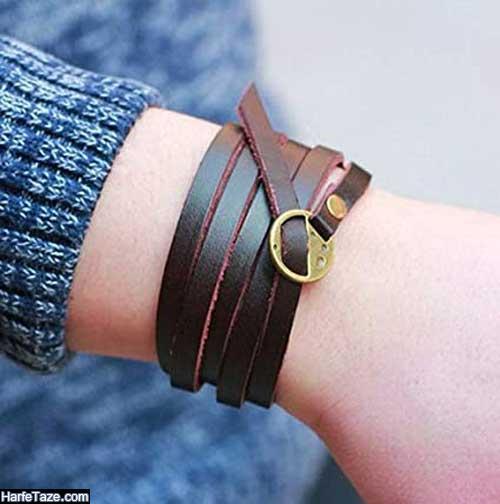 جدیدترین مدل دستبند چرم 2020