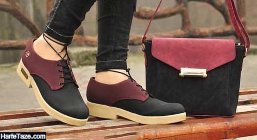 مدل ست کیف و کفش اداری جدید برای خانمهای شاغل