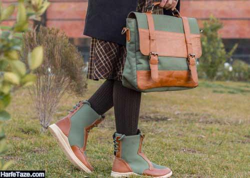 جدیدترین مدلهای ست کیفهای و کفش اسپرت ویژه دانشجویان دختر