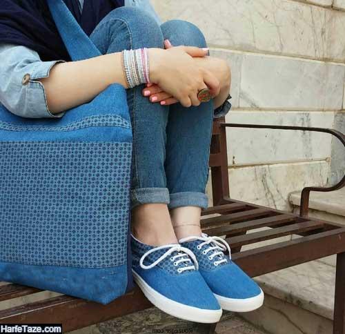 انواع مدل کیف و کفش ست دانشجویی 2020