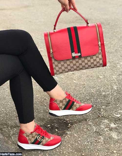ست کیف و کفش دانشجویی فوق العاده لاکچری 99
