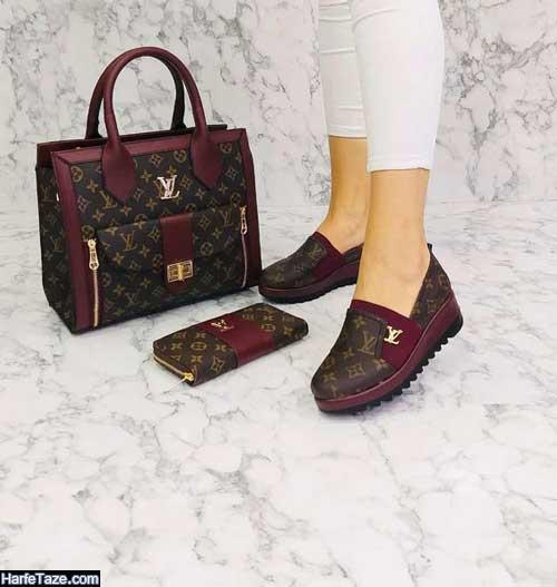 انواع مدل ست کیف و کفش دانشجویی