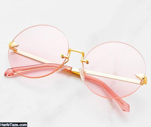 عینک برای صورت گرد و چاق