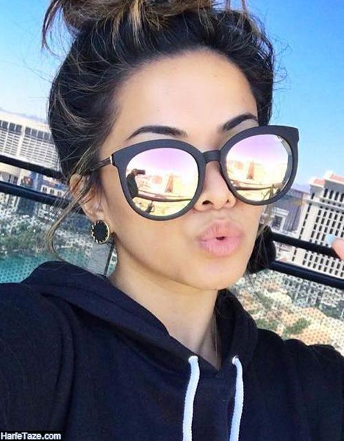 مدل عینک بازیگران زن معروف هالیوود