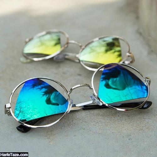 عینک آفتابی آینهای