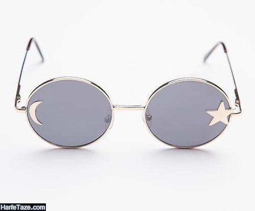 عینک آفتابی دخترانه با فرم فلزی