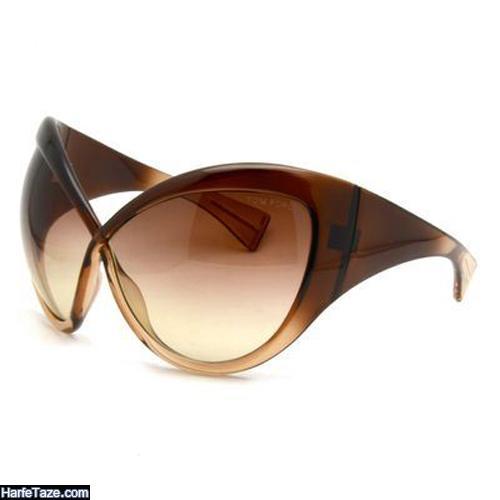 مدل عینک دودی مربعی دخترانه