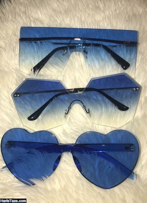 عینک چند ضلعی دخترانه جدید