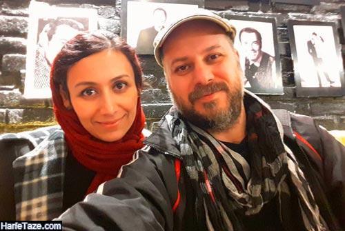ابوذر ساعدی و همسرش