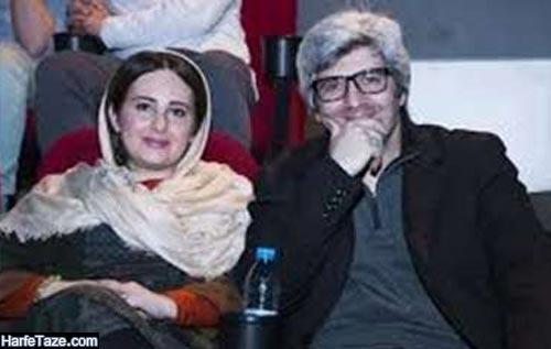 احمد ساعتچیان و همسرش فرانک حیدریان