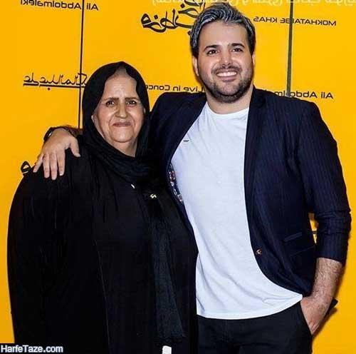 خانواده و مادر علی عبدالمالکی