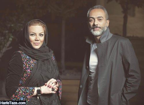 علی قربان زاده و همسرش