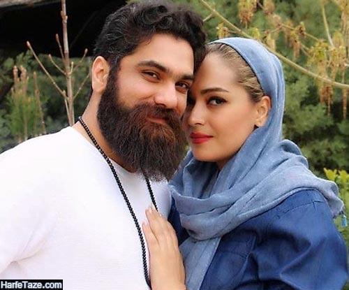 علی زند وکیلی و همسرش