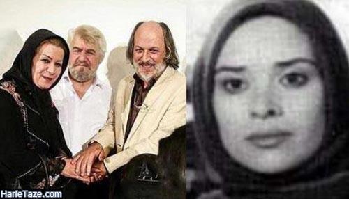امین تارخ و همسرش