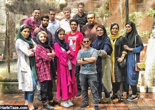 امیر محمد متقیان و دوستانش