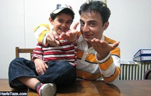 عکس قدیمی عمو پورنگ و امیر محمد