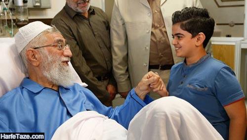دیدار امیرمحمد متقیان و رهبری