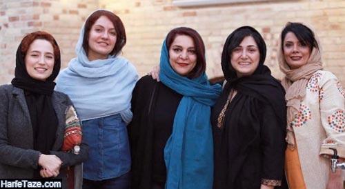 عکس های جدید عاطفه رضوی و مهناز افشار