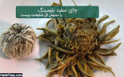 خواص و فواید چای بلومینگ و دمنوش شکوفنده برای لاغری و پوست و بدن