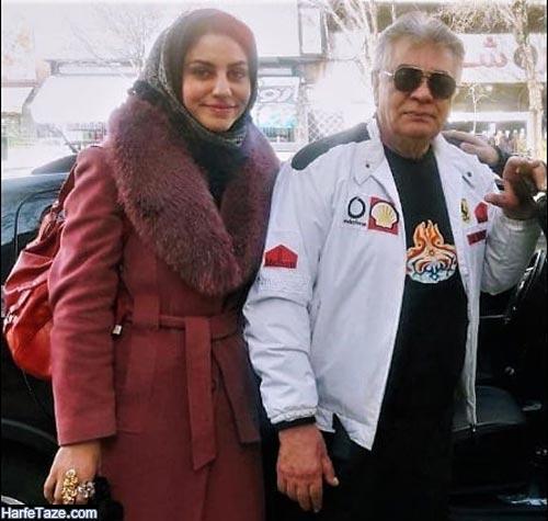 چنگیز وثوقی و همسرش مریم غمگین 99