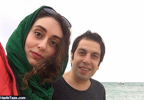 عباس جمشیدی فر و همسرش