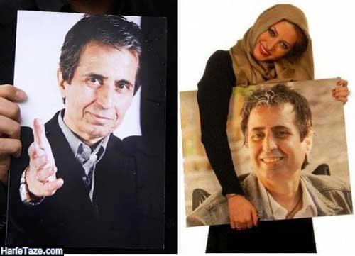 همسر اول فریبا نادری بازیگر