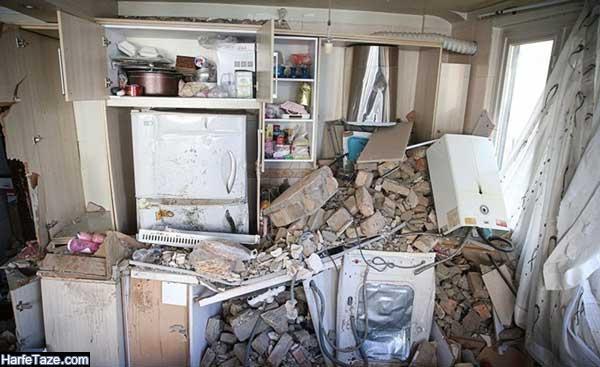 تصاویر انفجار خیابان کمیل تهران 20 اردیبهشت 99