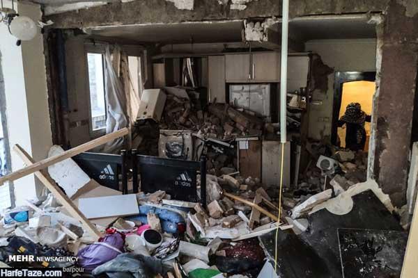 علت انفجار در تهران 99