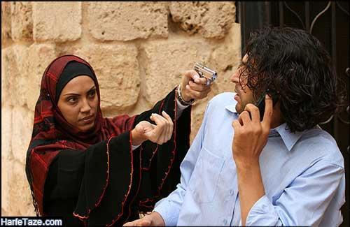 لوریت حنینو بازیگر لبنانی خاک و عشق