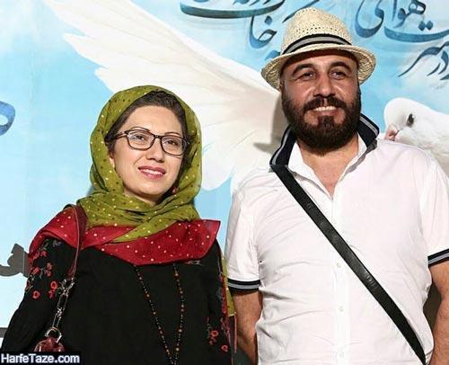 عکس های جدید فریده فرامرزی و رضا عطاران