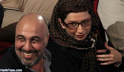 فریده فرامرزی و رضا عطاران