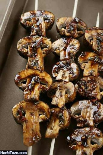 علت ترک خوردن قارچها هنگام به سیخ زدن