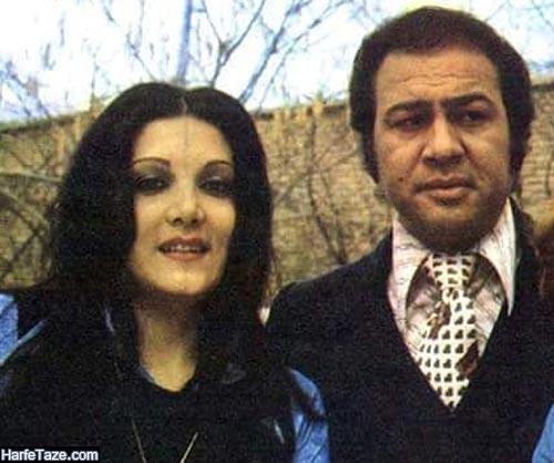 گیتی ساعتچی و همسرش