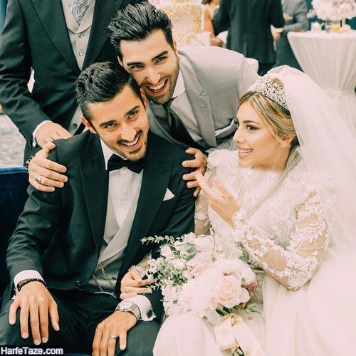 حسین تهی در عروسی رضا قوچان نژاد