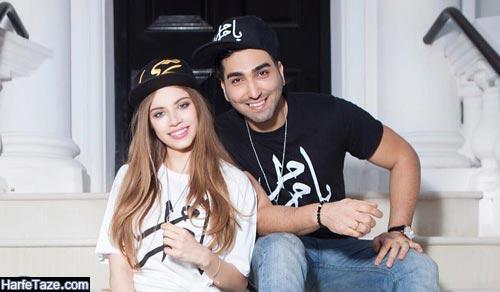 حسین تهی و همسرش