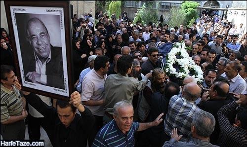 علت درگذشت محمود بهرامی
