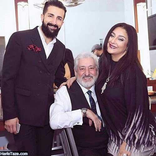 عکسهای جدید مهشید حامدی و همسرش ابی و پسرش فرشید