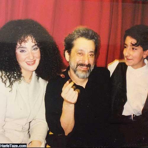 عکس جوانی حامدی همسر دوم ابی خواننده ایرانی