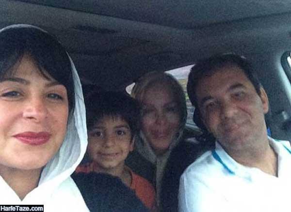 بیوگرافی و عکس های مجید جوزانی همسر دوم سیما تیرانداز