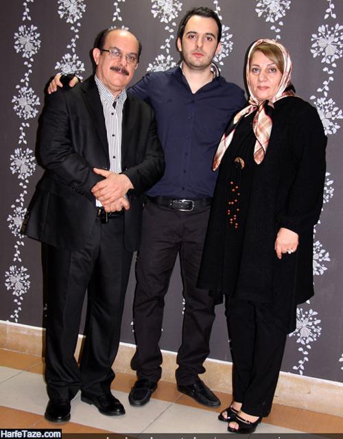عکس پدر و مادر محمد زارع خواننده
