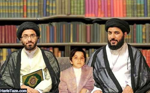 عکس بزرگسالی کودک نابغه قرآنی