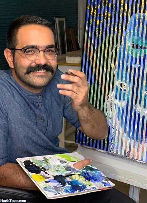 بیوگرافی شرکت کننده عصر جدید نقاشی خطای دید