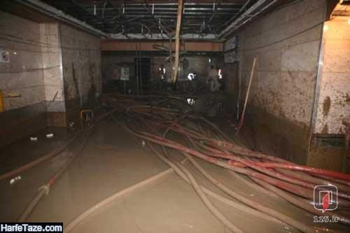 فیلم وحشتناک از آبگرفتگی در مترو پایتخت
