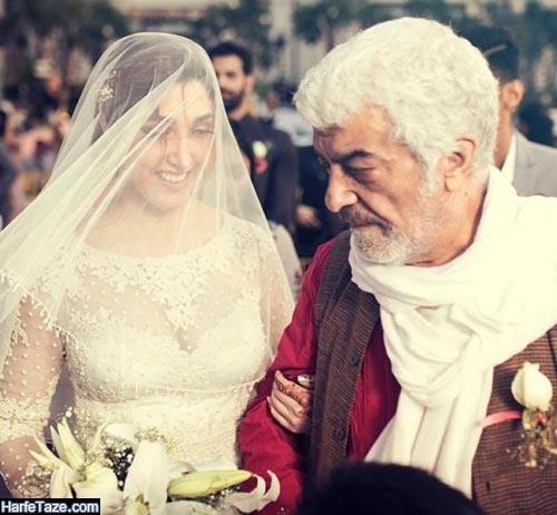 شهاب عسگری و همسرش