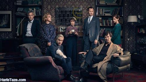 اسامی بازیگران سریال شرلوک هولمز Sherlock